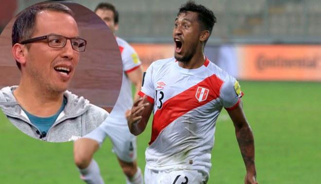 Daniel Peredo: Renato Tapia derrochó sentimiento recordando a periodista con este golazo a Ecuador [VIDEO]