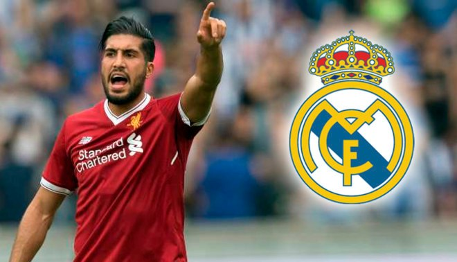 Real Madrid se suma al interés por el mediocampista Emre Can del Liverpool