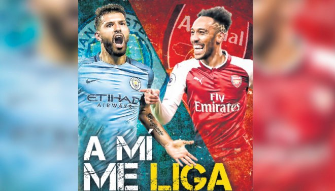Arsenal y Manchester City disputan la final de la Copa de la Liga en Wembley
