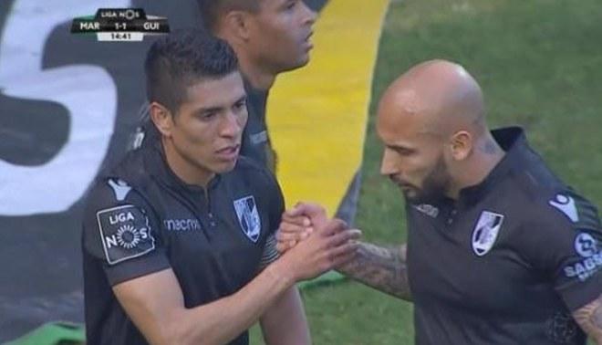 Paolo Hurtado volvió al gol con el Vitória Guimarães [VIDEO]