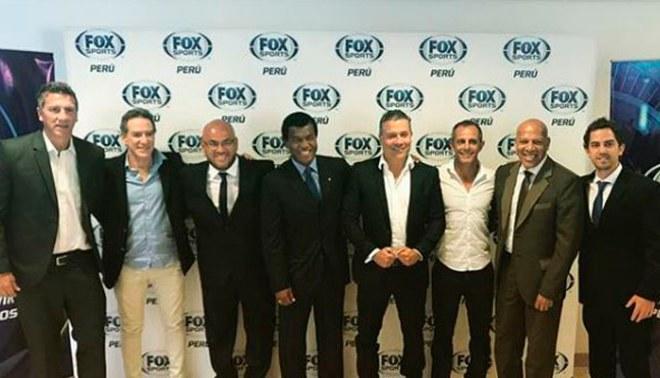Fox Sports Perú presentó a sus principales figuras para el inicio de su transmisión