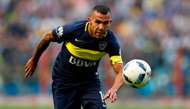 Boca Juniors: Carlos Tévez se perfila como titular pese a la lesión en el hombro