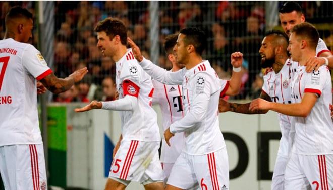Bayern Múnich volvió a la senda del triunfo y apabulló 4 - 0 al Friburgo por Bundesliga