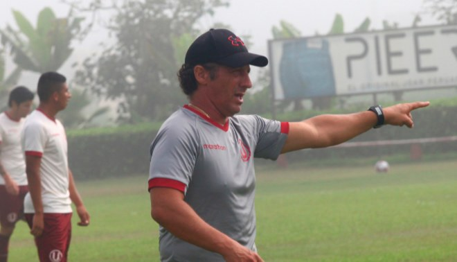 Universitario: Pedro Troglio se mostró descontento con empate frente Ayacucho FC