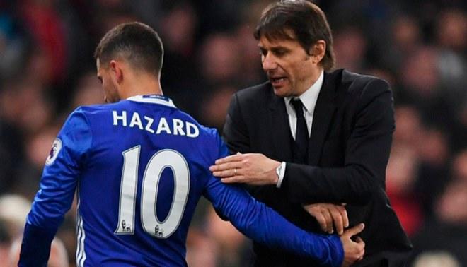 Real Madrid: Hazard tiene en mente dejar el Chelsea tras un 'corto circuito' con Conte