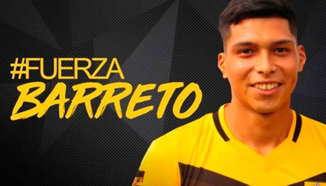 Gerson Barreto: Tendrá 4 meses de recuperación luego de exitosa operación