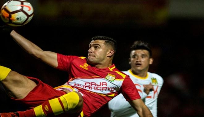 Sport Huancayo vs Unión Española: Charles Monsalvo anotó soberbio gol de tijera [VIDEO]