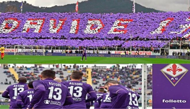 Davide Astori: Homenaje del estadio y llanto del nuevo capitán [VIDEO]