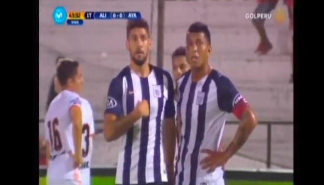 Alianza Lima vs. Ayacucho FC: Gabriel Leyes pidió ejecutar penal, pero terminó así [VIDEO]