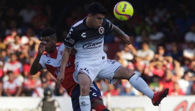 Veracruz derrotó por 1-0 a Tijuana en la fecha 13 de la Liga MX