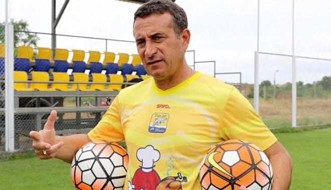 Guillermo Sanguinetti dijo que no son los favoritos en la Copa Libertadores.