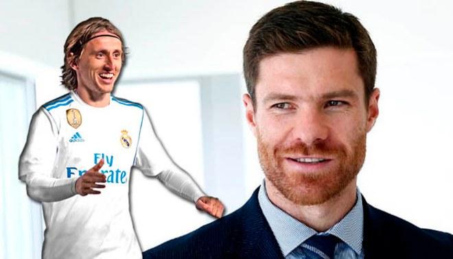 "Xabi Alonso: ""Luka Modric lo tiene todo"""