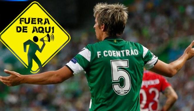 Fabio Coentrao es botado de Sporting de Lisboa y debe regresar al Real Madrid