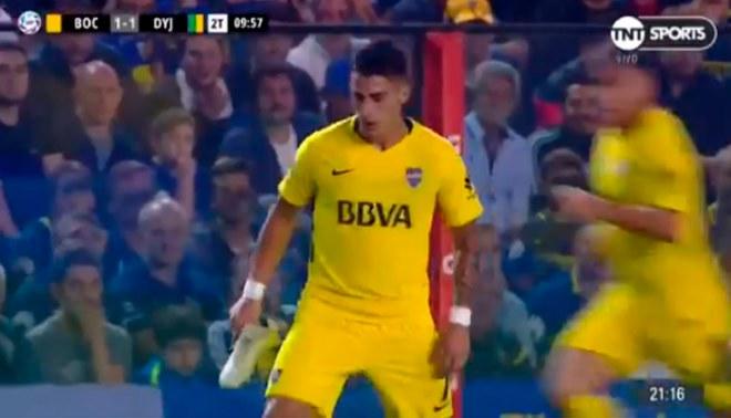 Boca Juniors: A Cristian Pavón Se Le Salió El Chimpún Y