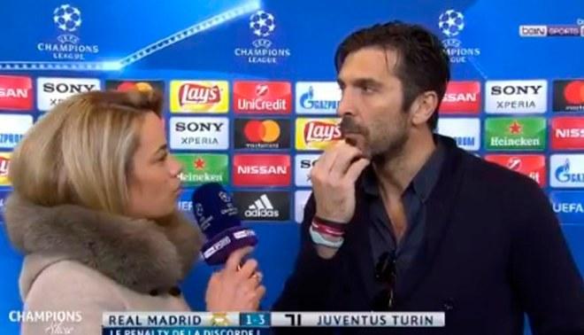 Real Madrid vs. Juventus: Gianluigi Buffon dejó por los suelos al árbitro del encuentro [VIDEO]