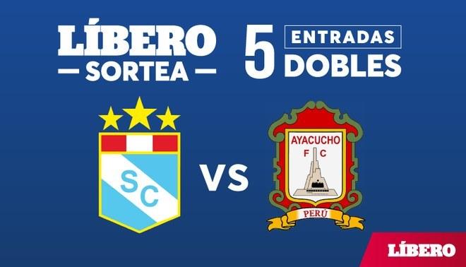 Líbero regala 5 entradas dobles para el partido Sporting Cristal vs. Ayacucho FC