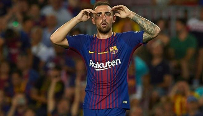 El Barcelona pone precio a Paco Alcácer de cara al próximo mercado de fichajes