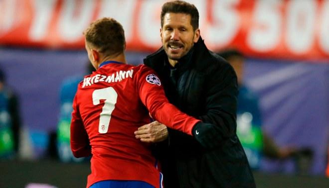 Diego Simeone y su estrategia para convencer a Antoine Griezmann de quedarse en el Atlético