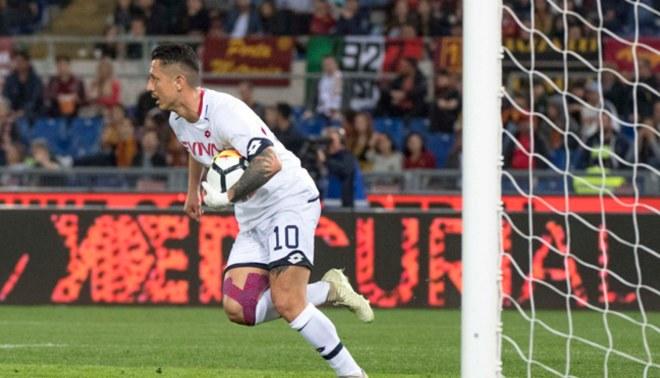 Gianluca Lapadula hizo lo que no pudo Messi: le anotó a Roma en el Olímpico [VIDEO]