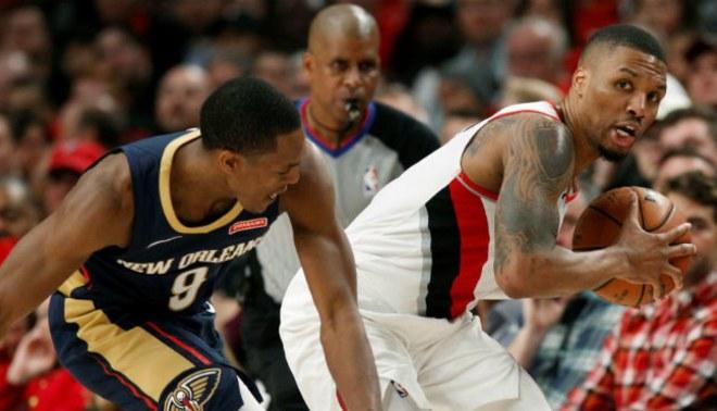 Pelicans Vs Trail Blazers Detail: Pelicans Vencieron 119-102 A Los Blazers Por Playoff De NBA