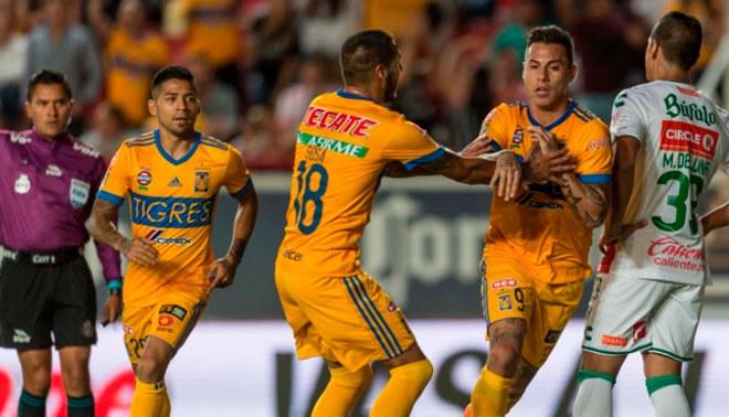 Necaxa igualó 1-1 ante Tigres por la Liga MX [RESUMEN Y GOLES]