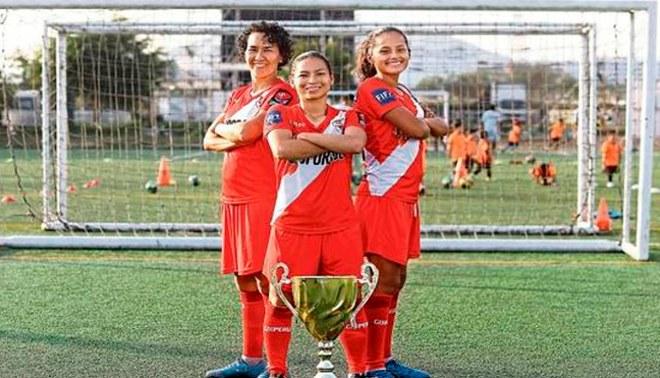 La selección femenina de fútbol 7 se consagró campeona continental