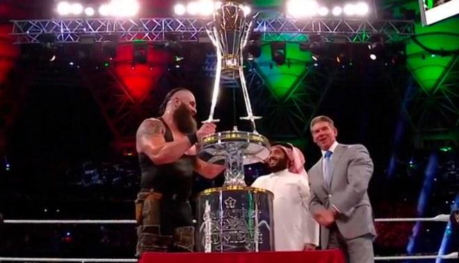 ¡Braun Strowman es el ganador del Greatest Royal Rumble! [VIDEO]