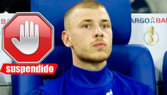 ¡IGUAL A CARRILLO! Max Meyer del Schalke 04 suspendido por no renovar