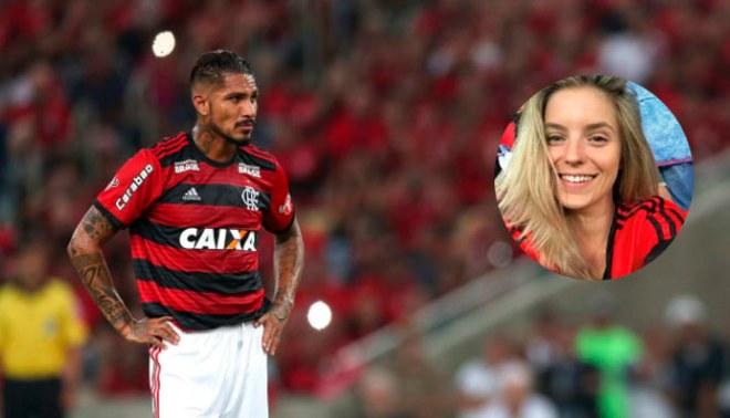 """Thaísa Leal también cantó """"O Guerrero chegou"""" en el retorno de Paolo Guerrero [VIDEO]"""