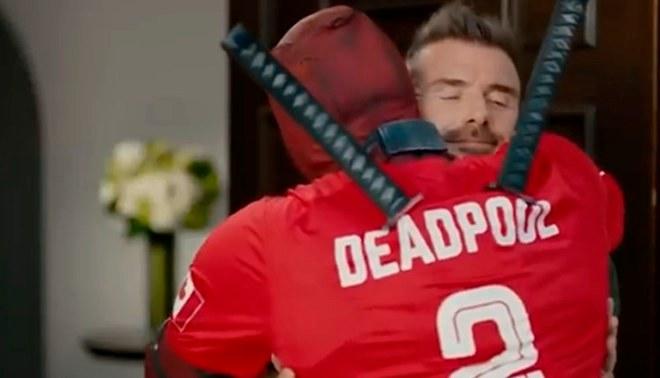 Deadpool se disculpó con David Beckham y le regaló entradas para Rusia 2018, pero el ex futbolista no aceptó [VIDEO]