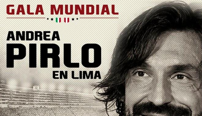 """¡OFICIAL! Evento """"Gala Mundial de Andrea Pirlo"""" se canceló"""