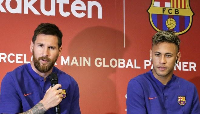 Lionel Messi habló sobre el posible fichaje de Neymar al Real Madrid