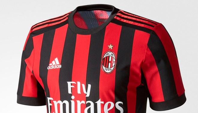 traje AC Milan nuevas