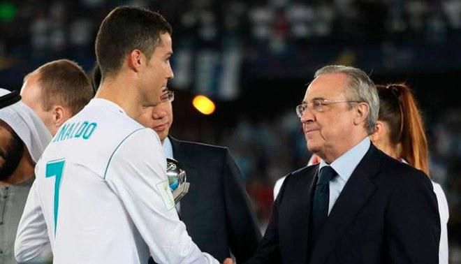 ¿Cristiano Ronaldo deja el Real Madrid? Florentino Pérez rechaza esa posibilidad [VIDEO]