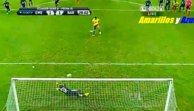 Emelec vs. Barcelona SC: Michael Arroyo pone el 1-1, de penal, en el 'Clásico Astillero' [VIDEO]