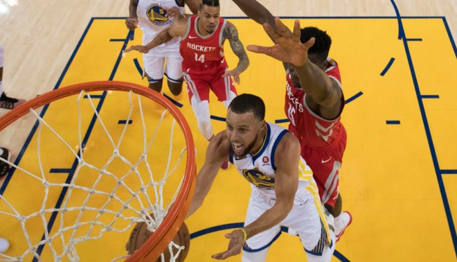 Warriors ganó 101-92 a Rockets y se consagró campeón de la Conferencia Oeste en los NBA Playoffs ...