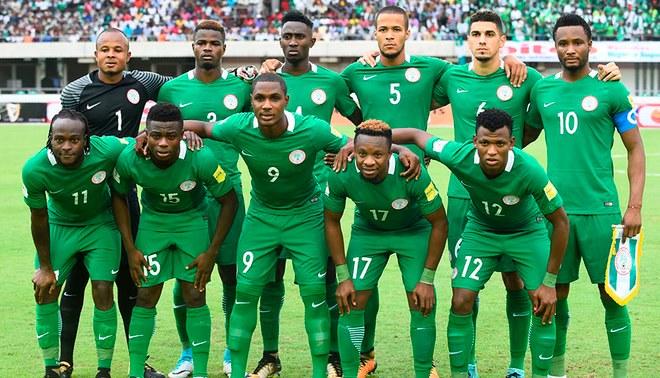 Resultado de imagen para seleccion nigeria 2018