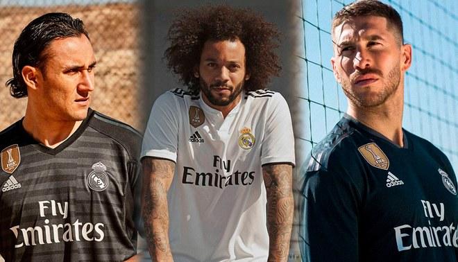 Real Madrid presentó su nueva indumentaria para la temporada 2018 2019.  Fotos  Real Madrid 2995533a611a3