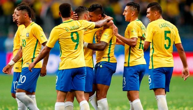 Brasil da a conocer los dorsales de sus jugadores para el Mundial de Rusia  2018. Creditos   EFE 06b1ae3de5634