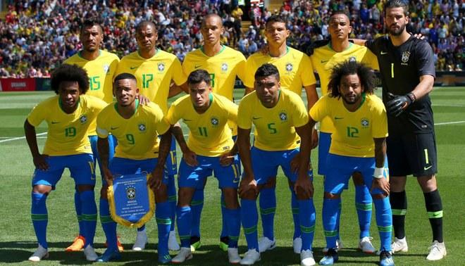 Resultado de imagen de seleccion brasileña