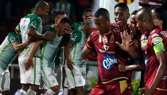 Atlético Nacional venció 1-0 a Tolima en la ida de la final del torneo colombiano [Resumen y Goles]