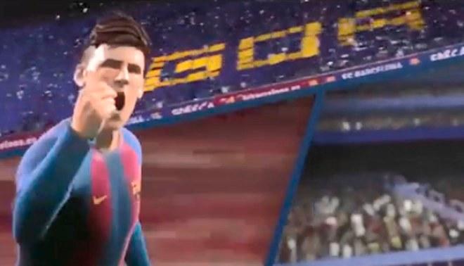 ¿Imaginabas ver a Lionel Messi en una animación? Este comercial te lo muestra [VÍDEO]