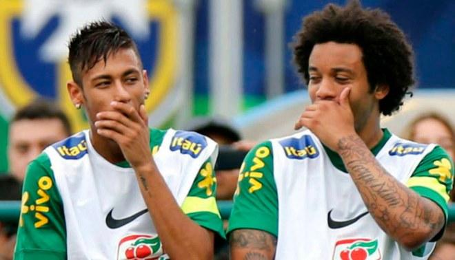 """Marcelo: """"Neymar tiene las puertas abiertas en Real Madrid"""""""