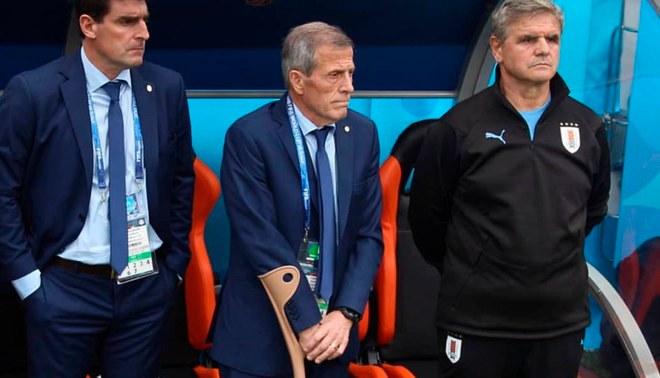 Image result for uruguay vs rusia tabarez