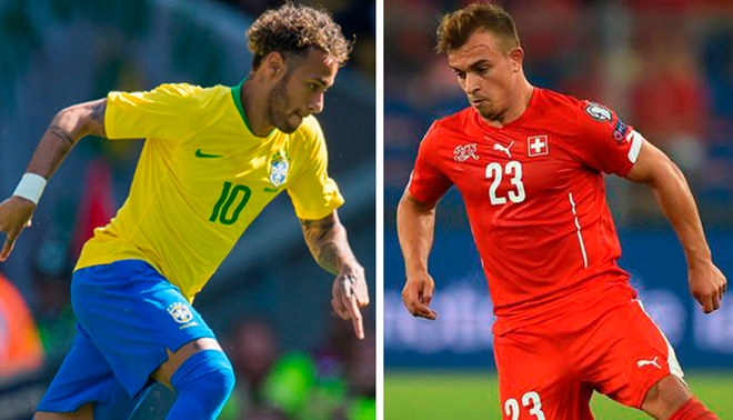 Brazil vs Switzerland watch LIVE Russia 2018 ONLINE: schedule and TV