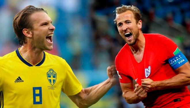 Resultado de imagen para suecia vs inglaterra