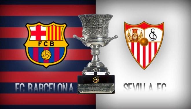 Supercopa de España: Barcelona y Sevilla se enfrentarán por la gran final en Marruecos