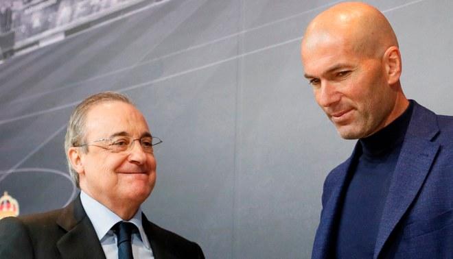 Zidane regaló 24 millones de euros al Real Madrid tras renunciar a la dirección técnica
