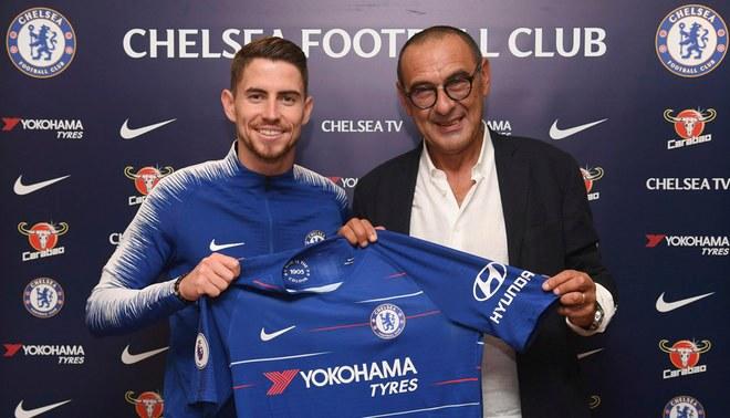El Chelsea oficializó el fichaje del italiano Jorginho