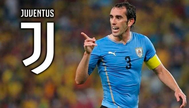 Juventus ahora va en busca de fichar al uruguayo Diego Godín